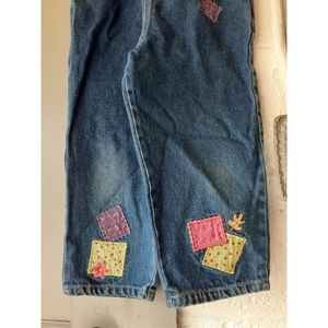 Disney Bottoms - Vintage Disney Winnie the Pooh Patches Overalls